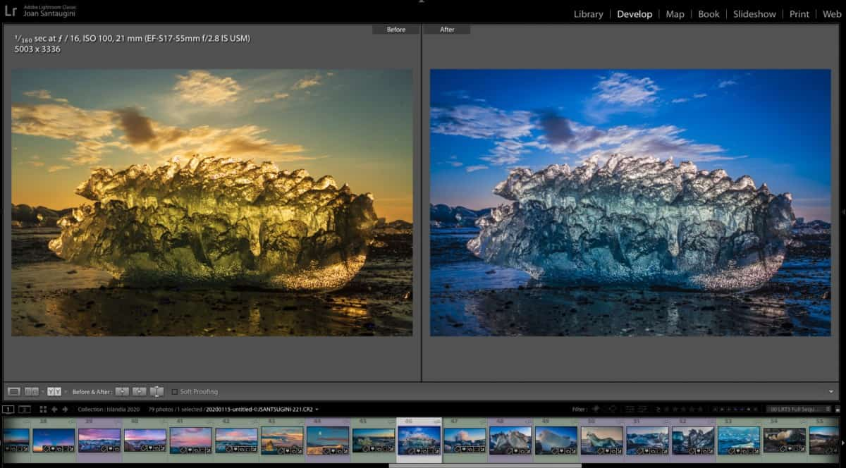 Classes ONLINE de revelat digital amb LIGHTROOM
